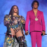Mandatory Credit: Photo by Raven Varona/Parkwood/PictureGroup/Shutterstock (10011776a) Beyonce Knowles and Jay Z Global Citizen Festival: Mandela 100, Show, Johannesberg, South Africa - 02 Dec 2018